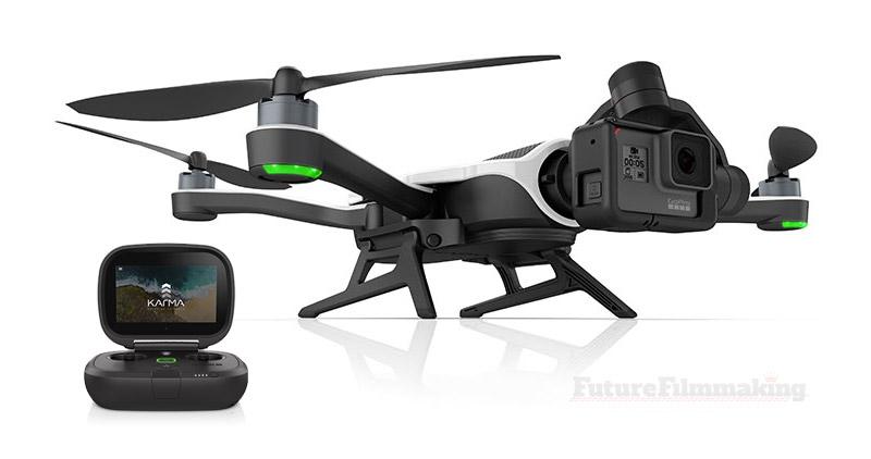 Gopro karma + hero5 black drone
